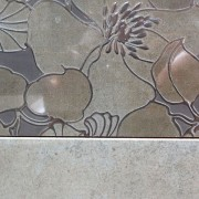 gray flower tile salem cherry city interiors & design
