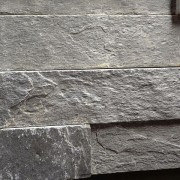 gray slate stacked tile salem cherry city interiors & design
